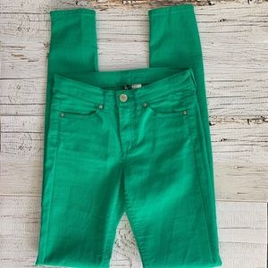 DIVIDED by H&M Green Skinny Jeans